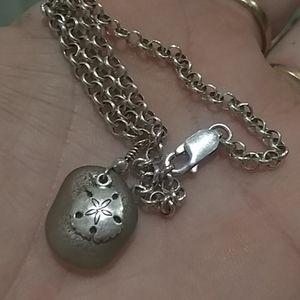Sterling ankle bracelet! Beautiful!